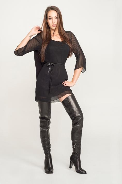 Arollo Victoria Overknees Crotch Boots Stiefel
