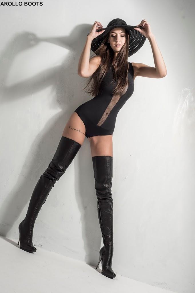 Crotch boots lange Overknee STiefel online kaufen