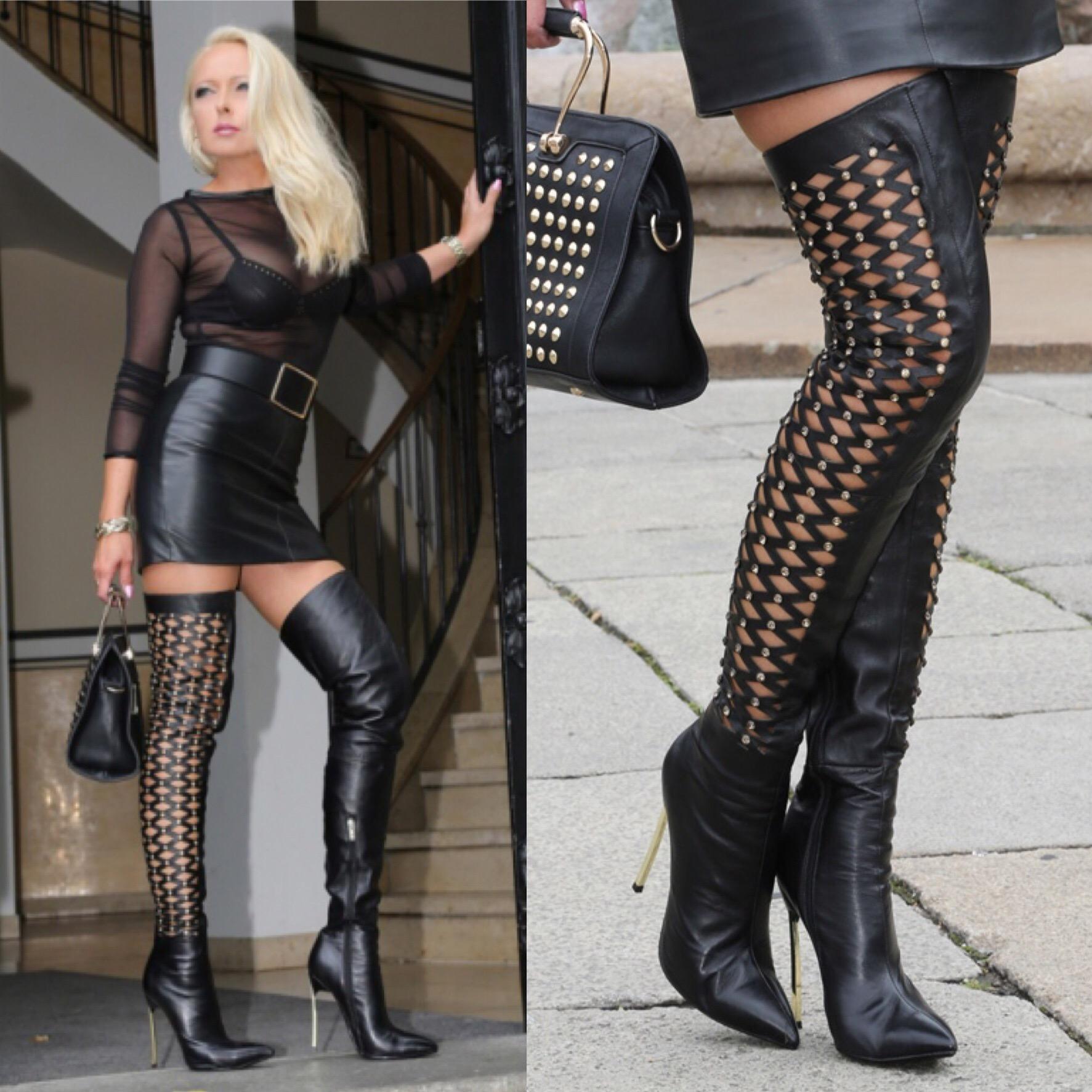 Thigh High Boots Fashion Week