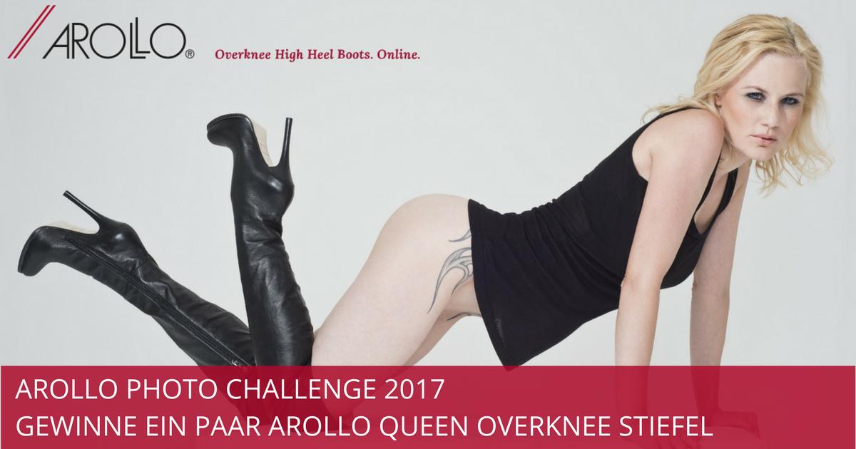 Arollo Queen Overknee Stiefel gewinnen
