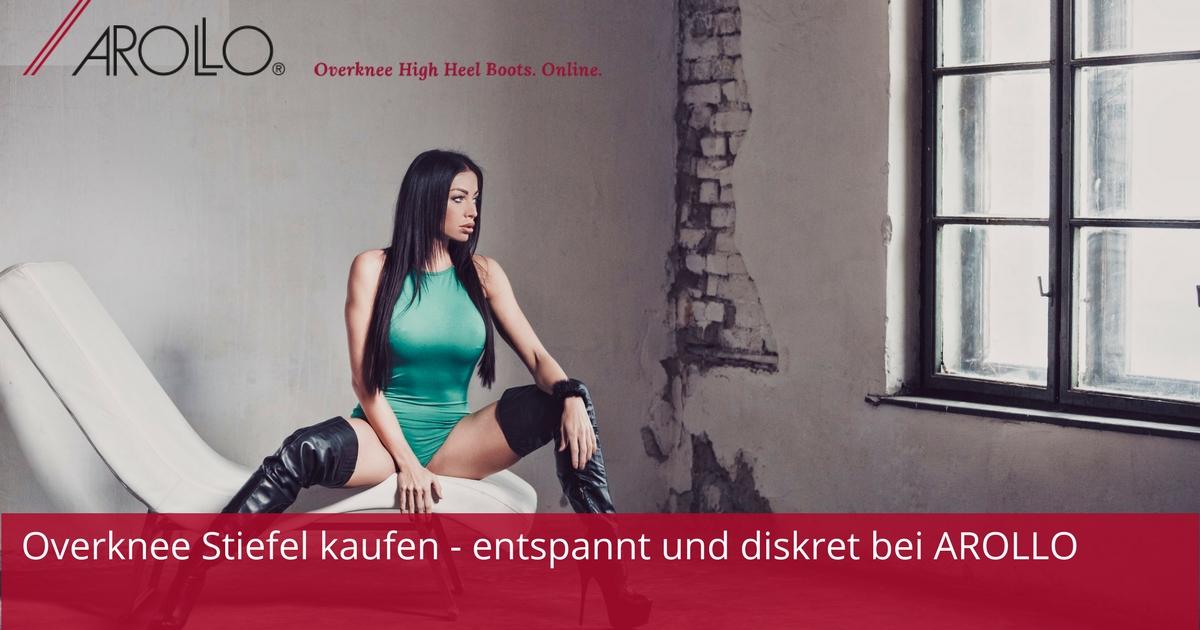 51f08a234d2d Arollo Crotch Boots kaufen online Archive • AROLLO Overknee Stiefel
